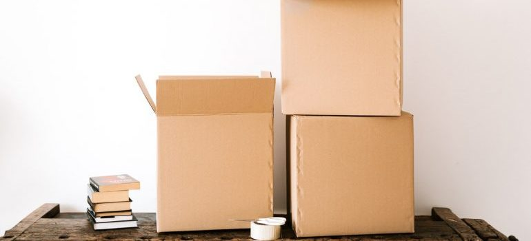 residential movers Toronto packing supplies