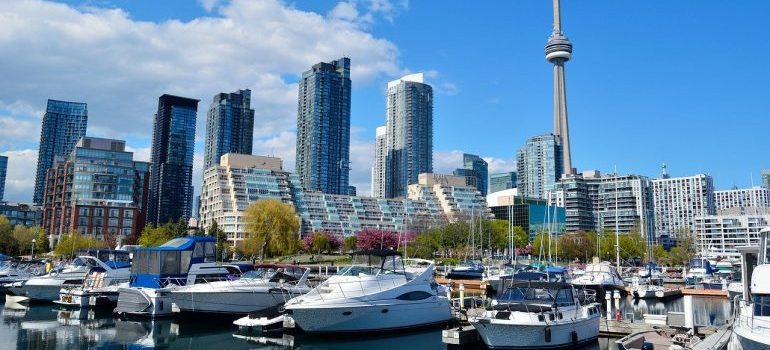 Toronto in summer