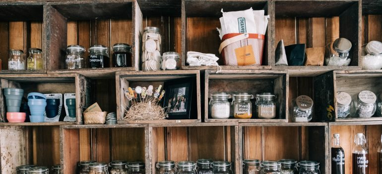 When packing your pantry for relocation, inventory list is very useful
