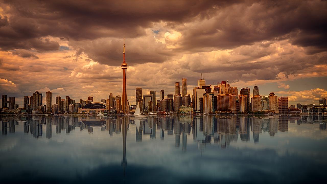 a toronto skyline - Toronto neighborhoods for raising kids