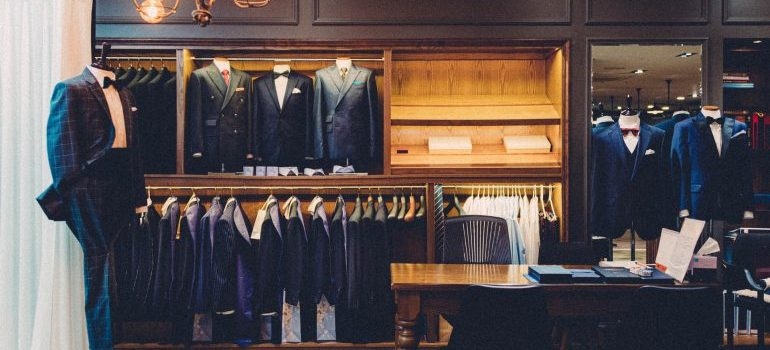 Decluttering is one of the best ways to prepare your wardrobe for relocation