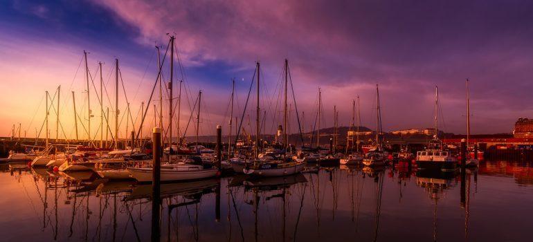Scarborough's harbor