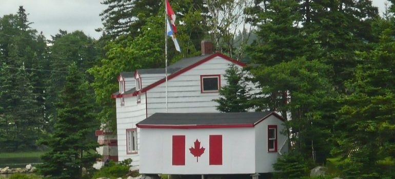 A typical Canada house