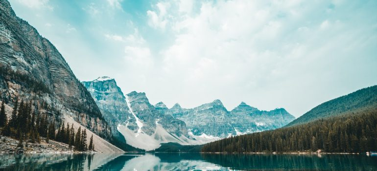 The Blue Mountains of Canada