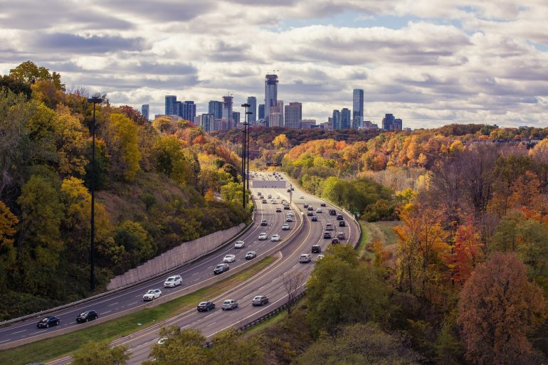 Part of Toronto, ON in fall - moving locally in Toronto