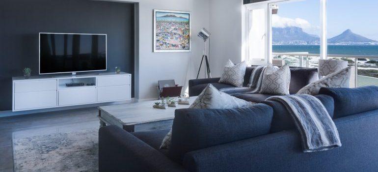 A tidy living room.