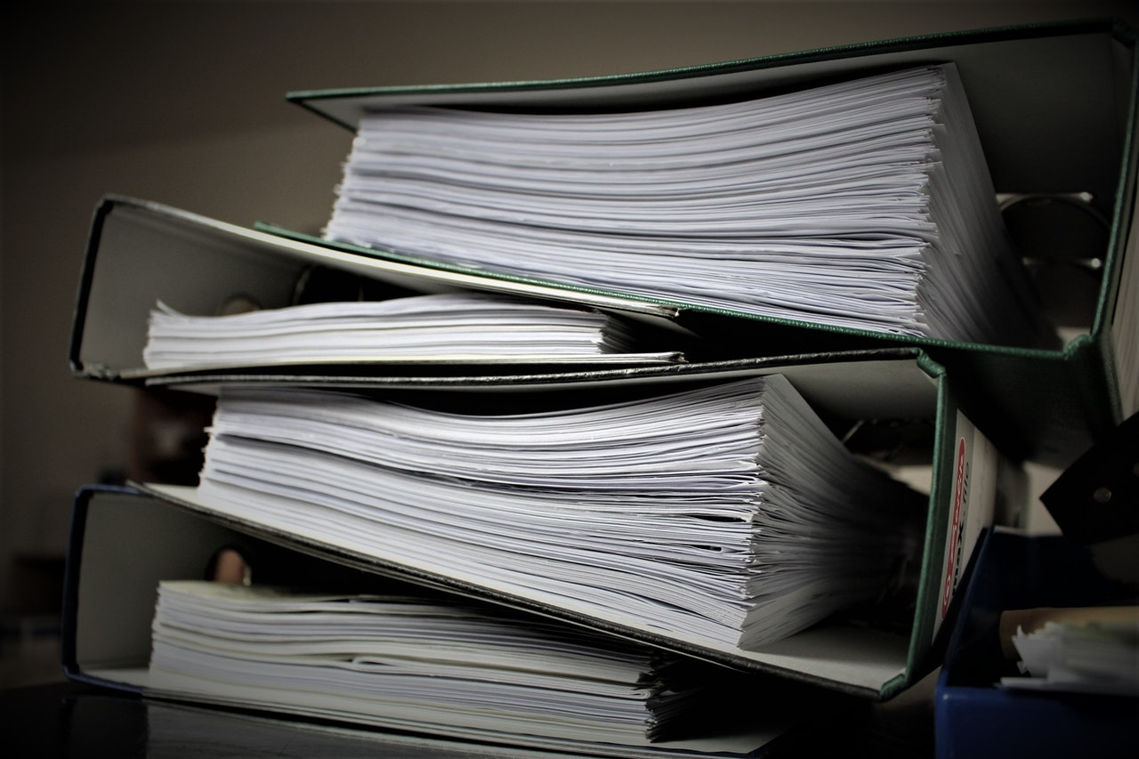 documents prepared for relocations